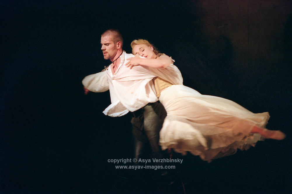 "Sarah Wildor in Adam Cooper's production of ""Liaisons Dangereuses"" in London."