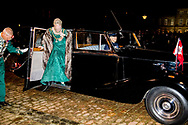 1-1-2018 - COPENHAGEN - Queen Margrethe arrive at the annual New Years reception in Amalienborg Palace in Copenhagen, Denmark, Danish royal family attend New Years reception 2018 COPYRIGHT ROBIN UTRECHT<br /> 2018/01/01 - KOPENHAGEN - Koningin Margrethe en prins Henrik van Denemarken aankomt op de jaarlijkse nieuwjaarsreceptie in Amalienborg in Kopenhagen, Denemarken, de Deense koninklijke familie wonen Nieuwjaarsreceptie 2018 COPYRIGHT ROBIN UTRECHT