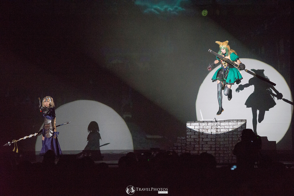 International teams doing their performances at the World Cosplay Summit 2018.