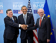 President Obama Visits The European Council