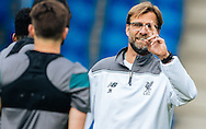 Head coach Jurgen Klopp pictured talking to his players during Liverpool training ahead of the Europa League Final at St. Jakob-Park, Basel<br /> Picture by EXPA Pictures/Focus Images Ltd 07814482222<br /> 17/05/2016<br /> ***UK &amp; IRELAND ONLY***<br /> EXPA-FEI-160517-0032.jpg