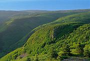 """Sugar loaves' mountains<br /> Cape Breton<br /> Nova Scotia<br /> Canada"
