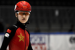 February 8, 2019 - Torino, Italia - Foto LaPresse/Nicolò Campo .8/02/2019 Torino (Italia) .Sport.ISU World Cup Short Track Torino - 1000 meter Ladies Preliminaries.Nella foto: Yize Zang..Photo LaPresse/Nicolò Campo .February 8, 2019 Turin (Italy) .Sport.ISU World Cup Short Track Turin - 1000 meter Ladies Preliminaries.In the picture: Yize Zang (Credit Image: © Nicolò Campo/Lapresse via ZUMA Press)