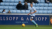 Coventry City Defender Baily Cargill during the Sky Bet League 1 match between Coventry City and Bury at the Ricoh Arena, Coventry, England on 13 February 2016. Photo by Chris Wynne.