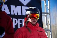 Tiril Sjastad Christiansen during Women's Ski Slopestyle Practice at the 2013 X Games Aspen at Buttermilk Mountain in Aspen, CO.  Brett Wilhelm/ESPN
