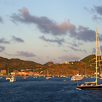 France, St. Barts, Gustavia. Saint Barthelemy in the Caribbean.