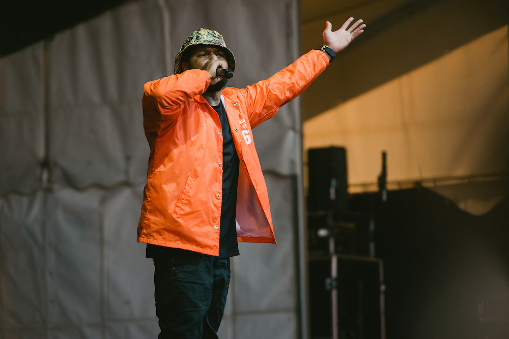 Photos of Schoolboy Q performing live at Secret Solstice Music Festival 2014 in Reykjavík, Iceland. June 22, 2014. Copyright © 2014 Matthew Eisman. All Rights Reserved