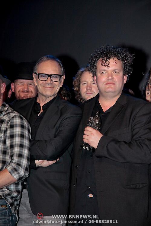 NLD/Rotterdam/20111002 - Uitreiking Edisons Pop 2011, Rob de Nijs en Daniel Lohues