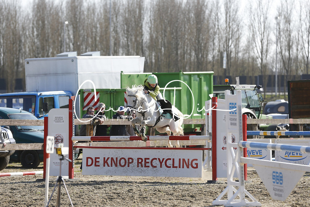 Verwimp Jarno (BEL) - Polaris Harold <br /> Nationale Pony eventing Affligem 2013<br /> &copy; Dirk Caremans