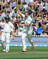 Wellington-Cricket, New Zealand v Australia, 1st test, day 1