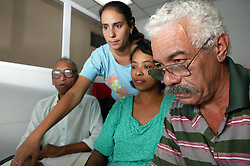 Computer training at Joven Club; Havana; Cuba,