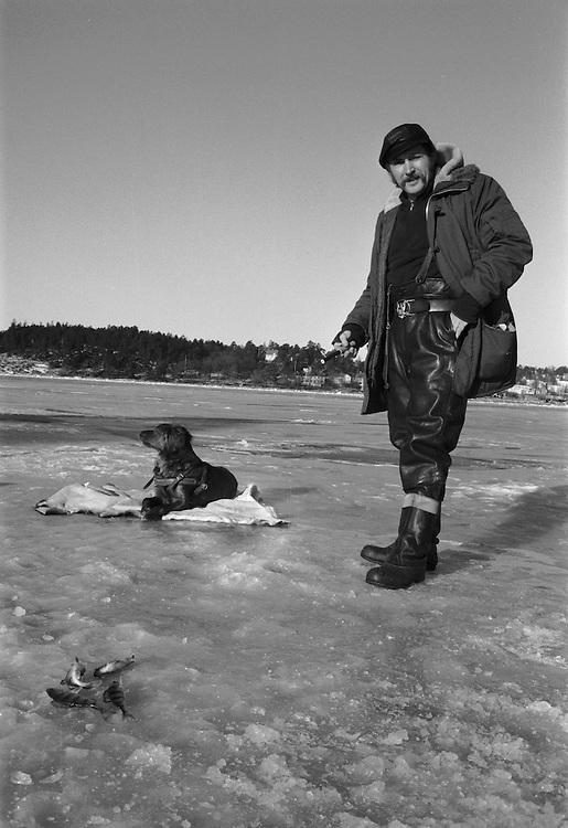 Fiskare utanför Ekensberg