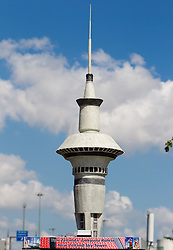 Scultures of world famous places from participants countries at 2010 FIBA World Championships on September 7, 2010 at the Sinan Erdem Dome in Istanbul, Turkey. At picture New Zealand - Sky Tower. (Photo By Vid Ponikvar / Sportida.com)