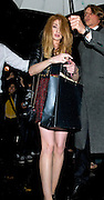 05.OCTOBER.2011. LONDON<br /> <br /> NICOLA ROBERTS AND CHARLIE FENNELL LEAVING THE IVY CLUB IN LONDON AFTER SEEING KIMBERLEY WALSH'S DEBUT PERFORMANCE IN SHREK. NICOLA ROBERTS WHO CELEBRATED HER 26TH BIRTHDAY PARTY SEEN HOLDING A CARD AND A BAG CONTAINING PRESENTS.<br /> <br /> BYLINE: EDBIMAGEARCHIVE.COM<br /> <br /> *THIS IMAGE IS STRICTLY FOR UK NEWSPAPERS AND MAGAZINES ONLY*<br /> *FOR WORLD WIDE SALES AND WEB USE PLEASE CONTACT EDBIMAGEARCHIVE - 0208 954 5968*