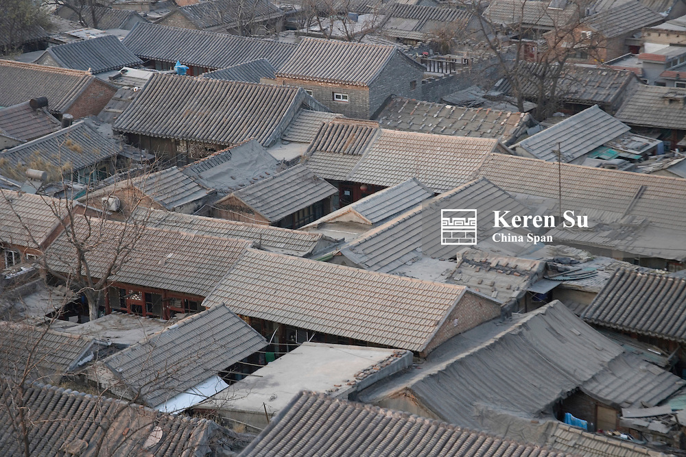 Traditional houses, Beijing, China