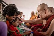 The Japanese monk Surai Sasai has worked for the rights of Dalits in India since 1966. Surai Sasai leads mass conversions of Hinuds to Buddhism<br /> <br /> Photo by Christina Sjögren<br /> <br /> <br /> Japanske munken Surai Sasai har kämpat för daliternas rättigheter i det indiska samhället sedan 1966. Sasai leder masskonverteringar av hinduer till buddismen. Nagpur, Indien