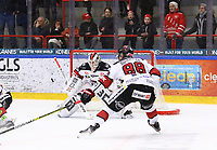 2020-03-07   Ljungby, Sverige: Bodens HF (35) Claes Endre under matchen i Hockeyettan mellan IF Troja/Ljungby och Bodens HF i Ljungby Arena ( Foto av: Fredrik Sten   Swe Press Photo )<br /> <br /> Nyckelord: Ljungby, Ishockey, Hockeyettan, Ljungby Arena, IF Troja/Ljungby, Bodens HF, fstb200307, playoff, kval