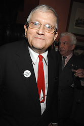 DAVID HOCKNEY at the 2008 Oldie of The year Awards and lunch held at Simpsons in The Strand, London on 11th March 2008.<br />