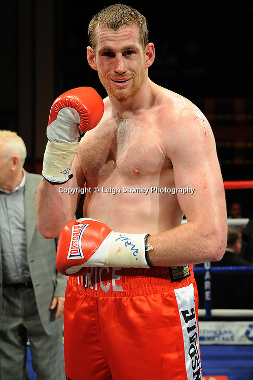 David Price (pictured) defeats Tom Dallas in the British Heavyweight Title Eliminator contest at Olympia, Liverpool on the 11th June 2011. Frank Maloney Promotions.Photo credit: Leigh Dawney 2011