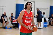 Ariel Filloy<br /> Raduno Nazionale Maschile Senior<br /> Allenamento <br /> Roma, 16/08/2017<br /> Foto GiulioCiamillo / Ciamillo-Castoria
