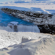 Gullfoss is a waterfall located in the canyon of the Hvítá river in southwest Iceland.