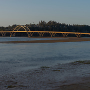 Yaquina Bay Bridge. Newport, Oregon.