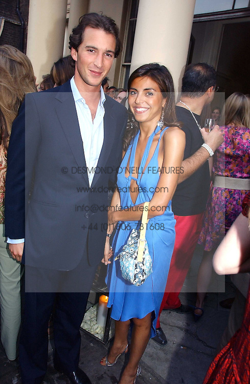 The HON.WILL ASTOR and NINA MOADDER at the Tatler Summer Party 2006 in association with Fendi held at Home House, Portman Square, London W1 on 29th June 2006.<br /><br />NON EXCLUSIVE - WORLD RIGHTS