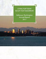 City of Bellevue Annual Report 2017 (Cover Page)