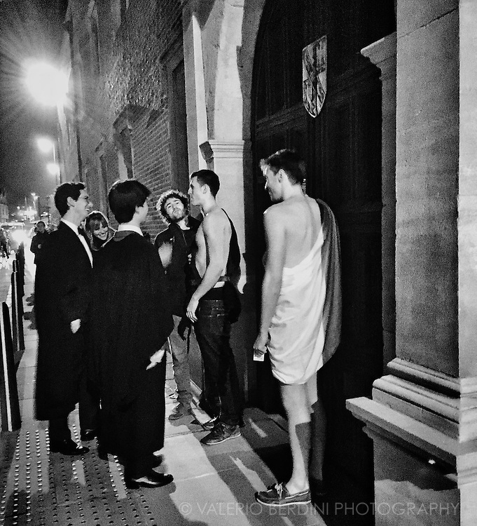 Your average Friday night as a Cambridge student. (Outside temperature -1 &deg;C)<br />