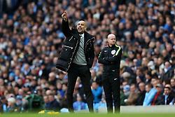 Manchester City manager Josep Guardiola points - Mandatory by-line: Matt McNulty/JMP - 05/02/2017 - FOOTBALL - Etihad Stadium - Manchester, England - Manchester City v Swansea City - Premier League