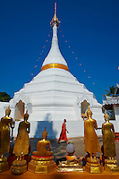 Thailande, Mae Hong Son, Wat Phra That Doi Kong Mu // Thailand, Mae Hong Son, Wat Phra That Doi Kong Mu