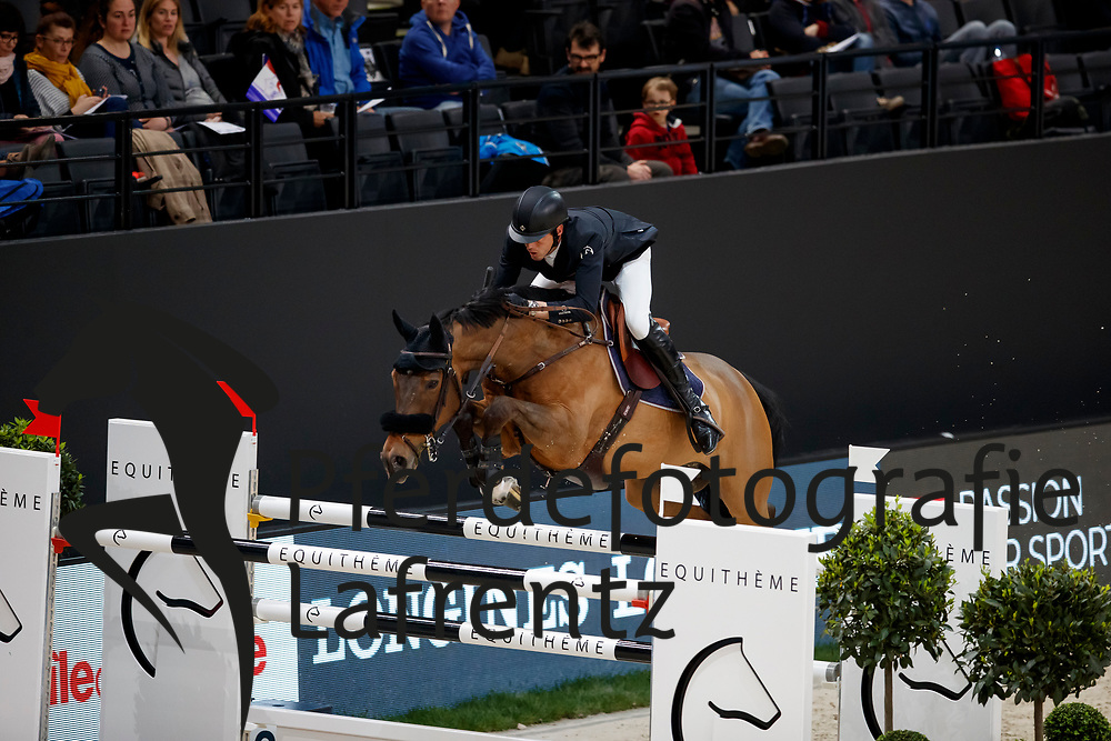 SMOLDERS Harrie (NED), Zinus<br /> Paris - FEI World Cup Finals 2018<br /> Grand Prix / Grosser Preis<br /> www.sportfotos-lafrentz.de/Stefan Lafrentz<br /> 15. April 2018