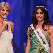 NLD/Nijkerk/20110710 - Miss Nederland verkiezing 2011, Kim Kotter en Miss Noord-Holland Luna Voce