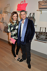 MELISSA DEL BONO and her brother LUCA DEL BONO at a party hosted by Melissa Del Bono to celebrate the launch of her Meli Melo flagship store at 324 Portobello Road, London W10 on 28th November 2013.
