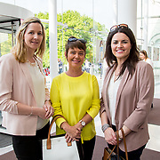 11.05. 2017.                                                 <br /> Over 20 leading Irish and international fashion media and influencers converged on Limerick for 24 hours on, Thursday, 11th May for a showcase of Limerick's fashion industry, culminating with Limerick School of Art & Design, LIT, presenting the LSAD 360° Fashion Show, sponsored by AIB.<br /> Pictured at the event were, Norma Purtill, Mary Killeen Fitzgerald and Ciara Finlay all of the Limerick Local Enterprise office. Picture: Alan Place