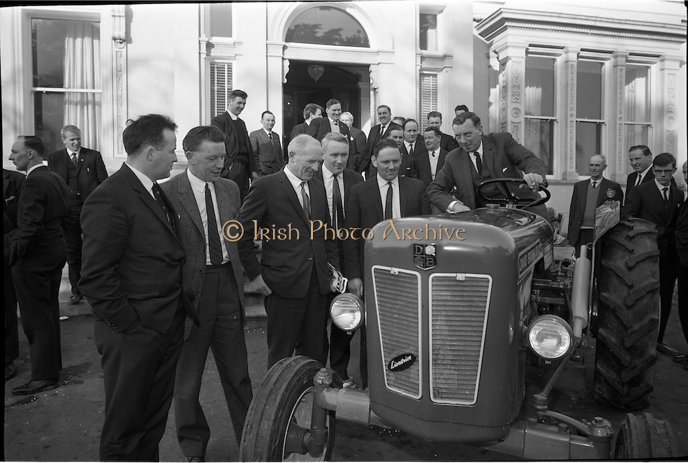 01/03/1965.03/01/1965.01 March 1965.David Brown 880 Tractor  demonstration to dealers at Crofton Airport Hotel, Dublin.