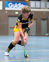BARNEVELD - Hoofdklasse zaalhockey dames. Den Bosch-Rotterdam (1-0). Imme van der Hoek (Den Bosch).  COPYRIGHT KOEN SUYK