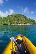 Kayaking, Namua Island, Upolu, Samoa