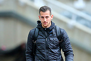 Martin Dubravka (#12) of Newcastle United arrives ahead of the Premier League match between Newcastle United and Watford at St. James's Park, Newcastle, England on 3 November 2018.