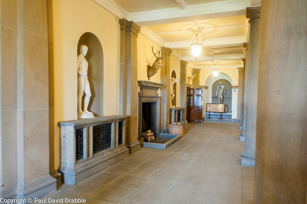 Wentworth Woodhouse - The Pillared Hall<br /> 26 June 2013<br /> Image &copy; Paul David Drabble<br /> www.pauldaviddrabble.co.uk
