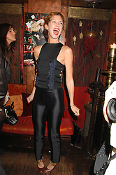 MARGO STILLEY at a party in honour of Ivana Trump hosted by Mohieb Dahabieh at Pasha, Gloucester Road, London on 25th January 2008.<br /><br />NON EXCLUSIVE - WORLD RIGHTS