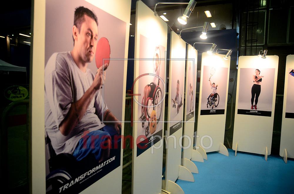 Acontece a partir desta sexta-feira (01), o maior evento Arnold Classic Brasil 2016, no Centro de Convenções no Rio Centro, com disersas atividades e competições direcionadas para o mundo de fisioculturismo e fitness.no Rio de Janeiro. Foto: Adriano Ishibashi/FramePhoto