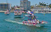 Old Glory Boat Parade Newport Beach