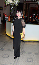 MARIE WILKINSON at a party hosted by Cutler and Gross to celebrate the 30th anniversary of design director Marie Wilkinson held at the V&A Museum, Cromwell Road, London on 26th June 2013.