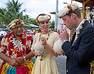 "CATHERINE, DUCHESS OF CAMBRIDGE AND PRINCE WILLIAM.drink from a coconut from a tree planted by the Queen in 1982, Funafuti, Tuvalu_18/09/2012.Mandatory credit photo: ©DIASIMAGES/NEWSPIX INTERNATIONAL..(Failure to credit will incur a surcharge of 100% of reproduction fees)..                **ALL FEES PAYABLE TO: ""NEWSPIX INTERNATIONAL""**..IMMEDIATE CONFIRMATION OF USAGE REQUIRED:.DiasImages, 31a Chinnery Hill, Bishop's Stortford, ENGLAND CM23 3PS.Tel:+441279 324672  ; Fax: +441279656877.Mobile:  07775681153.e-mail: info@newspixinternational.co.uk"
