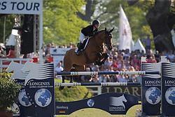 Bloomberg Georgina, (USA), Lilli<br /> Longines Global Champions Tour - Grand Prix of Hamburg<br /> Hamburg - Hamburger Derby 2016<br /> © Hippo Foto - Stefan Lafrentz