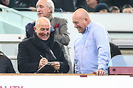 Tony Pullis, recently appointed the new Manager of West Bromwich Albion signs an autograph before the Barclays Premier League match at the Boleyn Ground, London<br /> Picture by David Horn/Focus Images Ltd +44 7545 970036<br /> 01/01/2015
