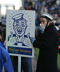 PORTSMOUTH, ENGLAND - SATURDAY, DECEMBER 9th, 2006: Portsmouth mascot during the Premiership match at Fratton Park. (Pic by Chris Ratcliffe/Propaganda)