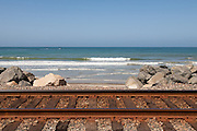 Train Tracks Through San Clemente California