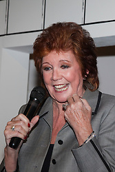 """© under license to London News Pictures. LONDON, 19/05/2011. Cilla Black giving a speech. Opening of the Tommy Nutter Exhibition """"Rebel on the Row"""" at the Fashion and Textile Museum, London. Photo credit should read BETTINA STRENSKE/LNP"""